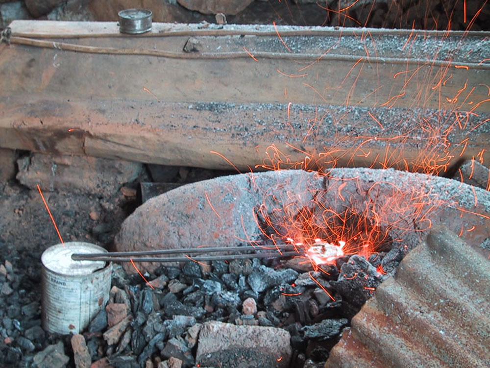 Heating Silver