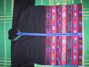 Akha Embroidery - Front