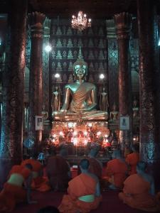 Inside a Wat