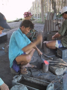 Knife Making By Hand