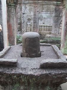 Angkor Wat - Preah Khan Lingam-yoni Shrine