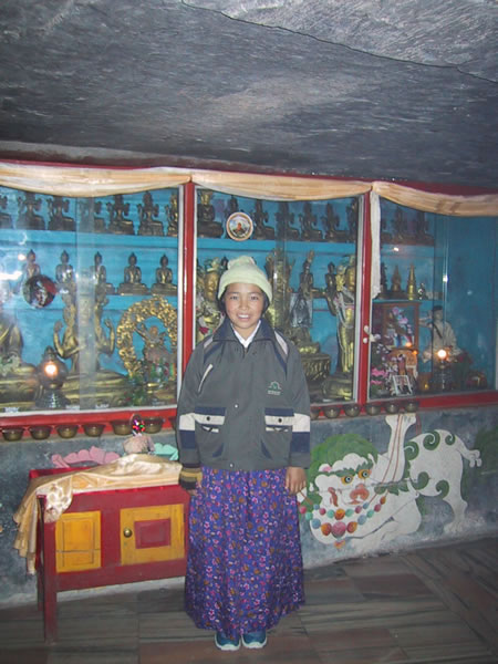 Child At Shrine