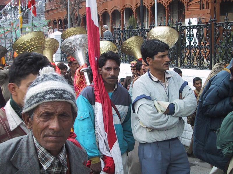 Parade in Mandi