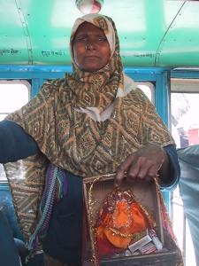 Indian Beggar Woman