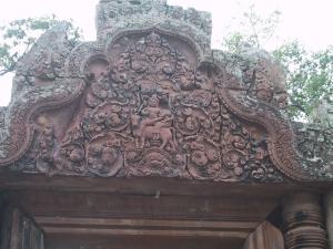Banteay Srei Gopura Shiva