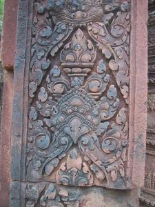 Banteay Srei Pillar Detail