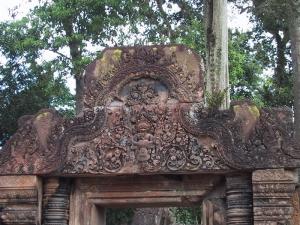 Banteay Srei Vishnu as Narasimha