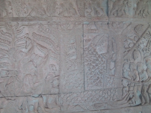 Bas-Relief at Angkor Wat: Hellfire