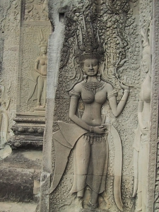 Angkor Wat Apsara (Heavenly Maiden)