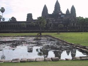 Angkor Wat Horse