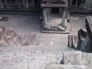 Angkor Wat Steep Stairs