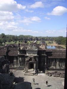 Angkor Wat Tower View