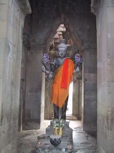Angkor Wat Statue of Vishnu