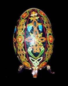 Painted Egg Tree of Life