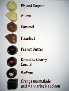 2008 Insert Molded Chocolates