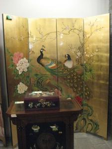 Xi'an Lacquer Peacock
