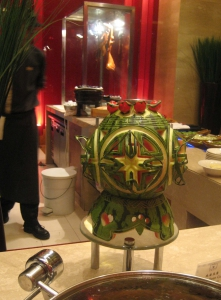 Xi'an Sofitel Watermelon Carving