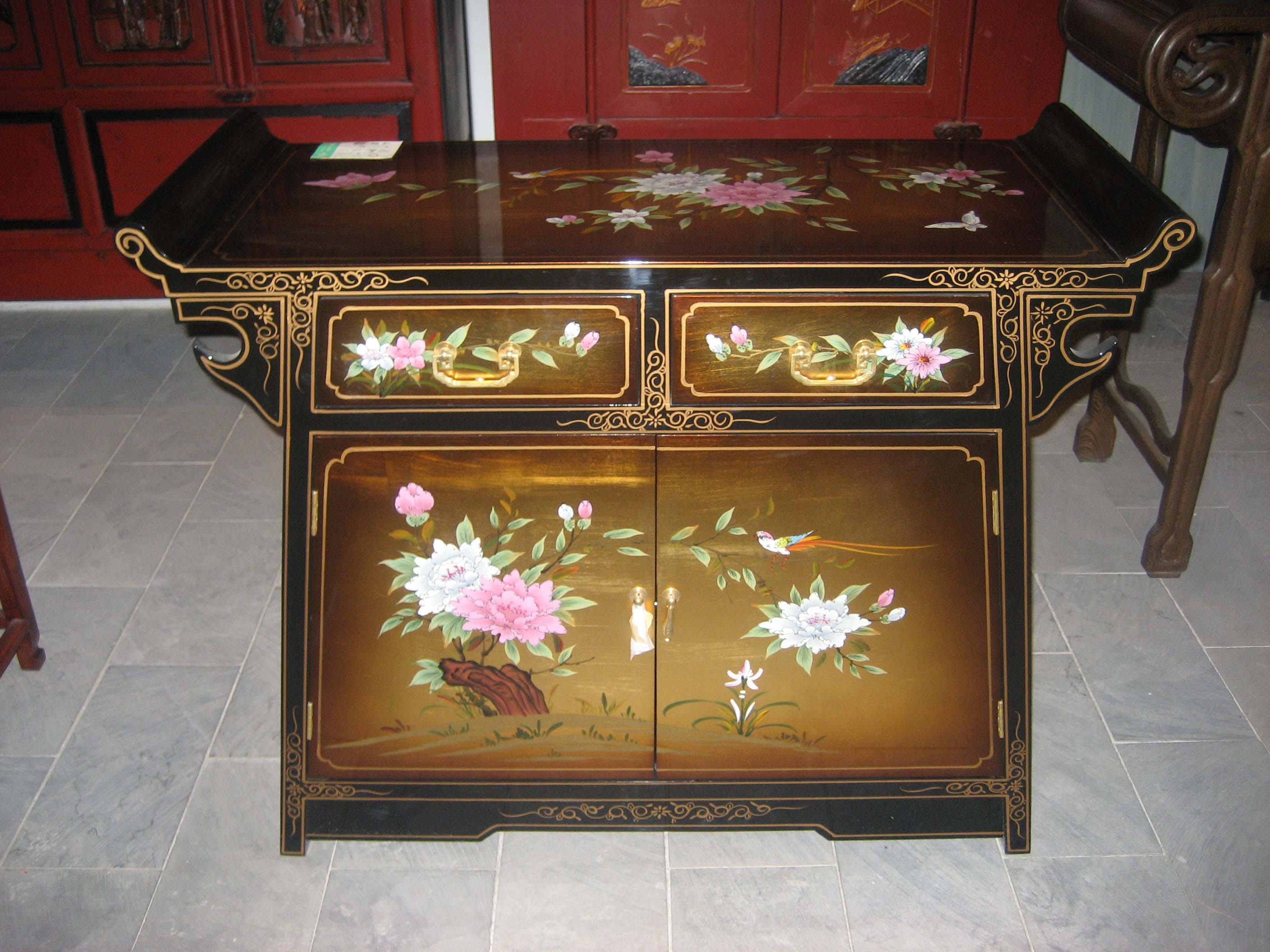 Xi'an Lacquer Drawers