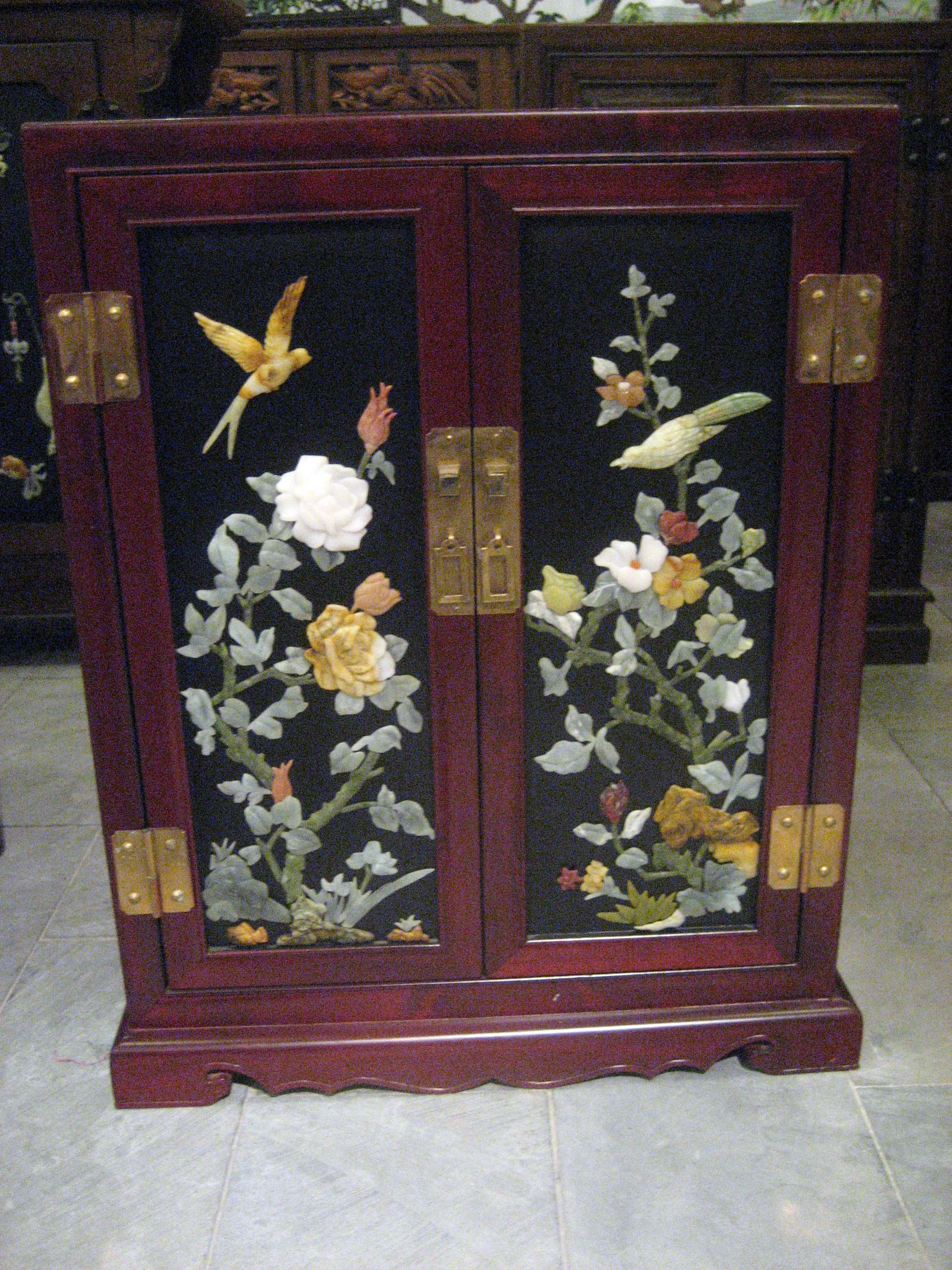 Xi'an Lacquer Jade Cabinet