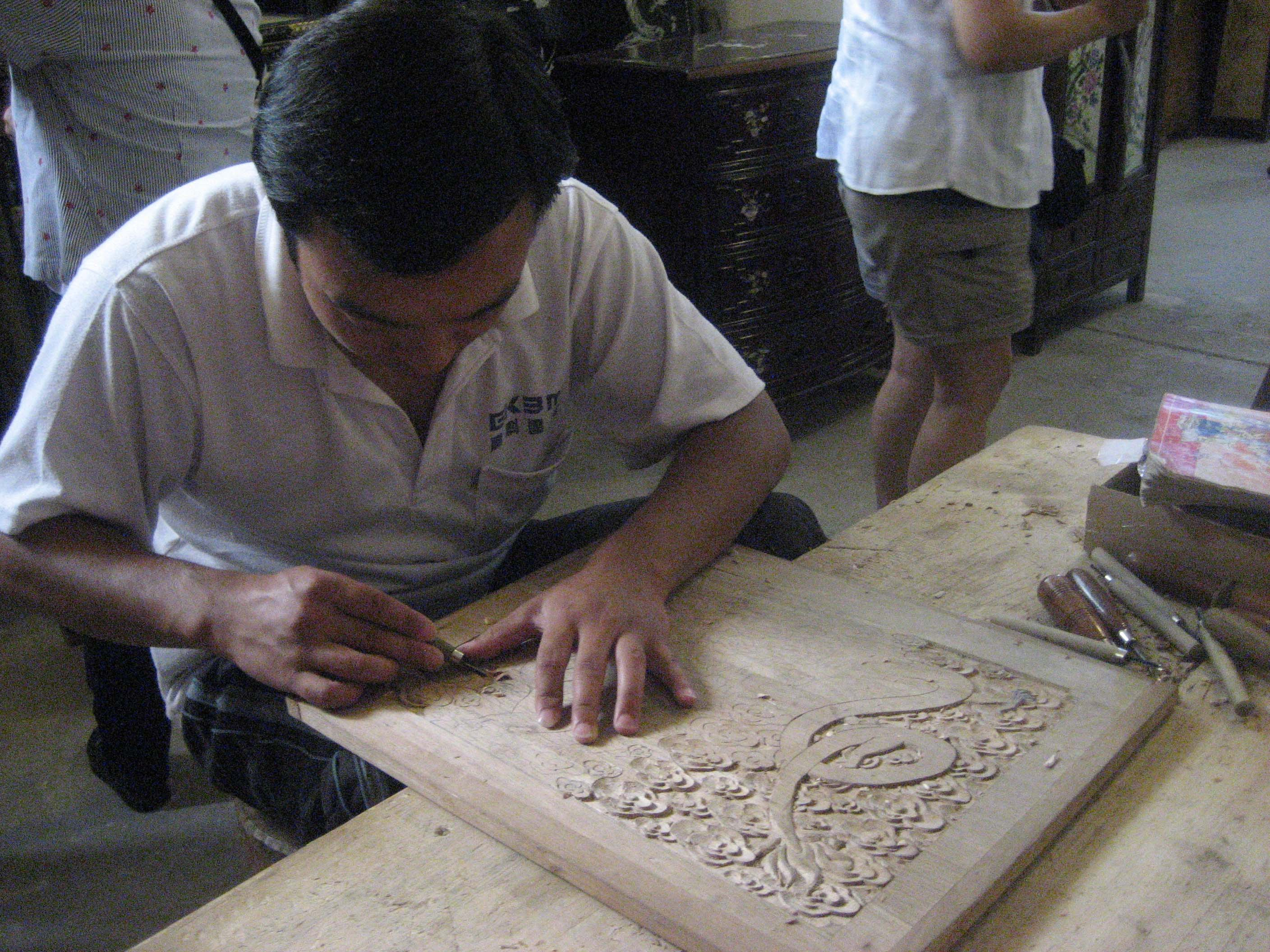 Xi'an Lacquer Woodcarving