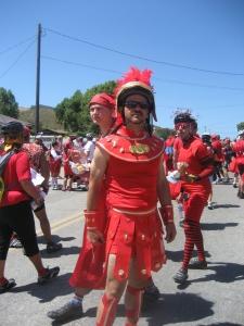 Red Greek Warrior