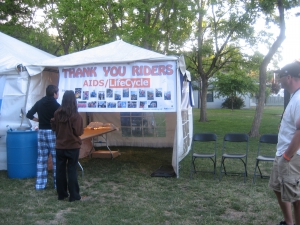 Dedication Tent