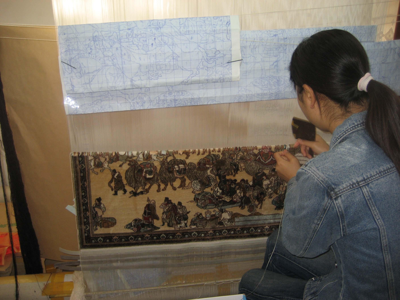 Dunhuang Rugmaking