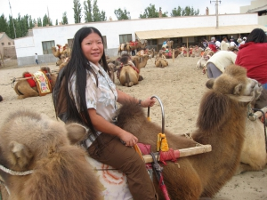 Tien on a Dunhuang Camel