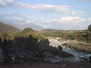 River On Way To Dharamsala