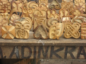More adinkra stamps