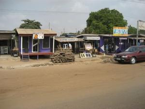 A street in Accra, Ghana