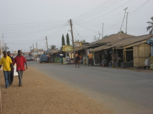 Another street in Accra, Ghana