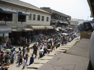 The main market in Accra