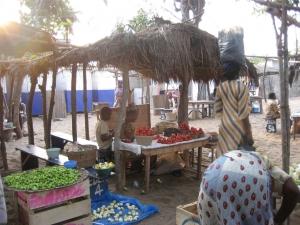 Market day in Ghana