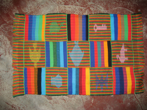 Kente weaving in Ghana