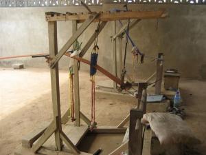Ghanaian Kente Loom