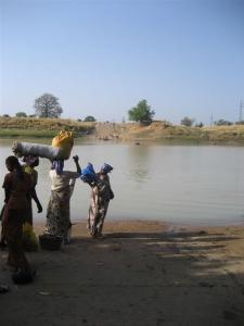 River to Daboya