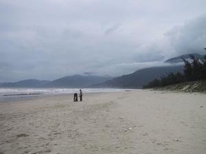 Vietname Beach On Way to Hue