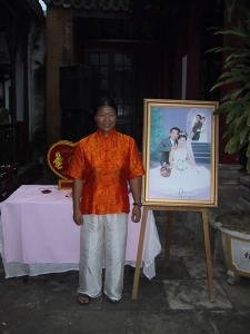 Tien at a Wedding in Hoi An