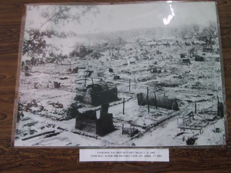 Vinh Moc After Bombing