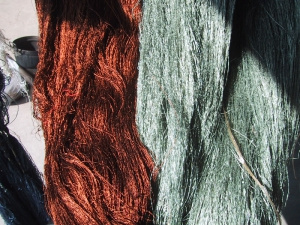 Natural Dye Skeins