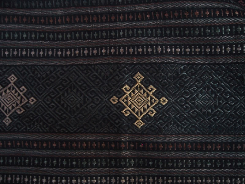 Naturally-Dyed, Handwoven Silk