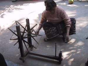 Charkha Spinning