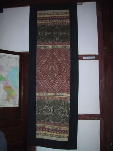 Textile Woman's Blanket from Huaphanh