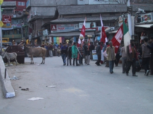 Religious Parade in Mandi