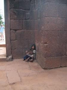 Angkor Wat Temple Beggar