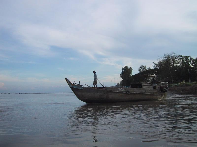 Vietnam Border Boat