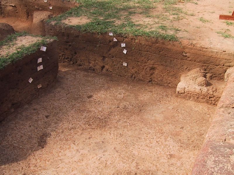 Angkor Pit 1284 Excavated