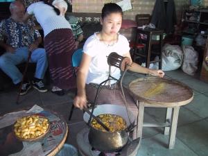 Woman Reeling Silk