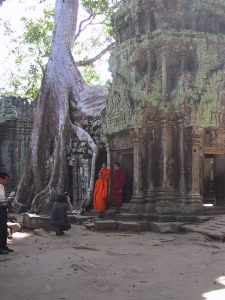 Ta Prohm Monks